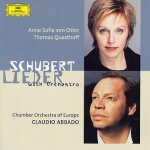 Schubert Lieder with orchestra
