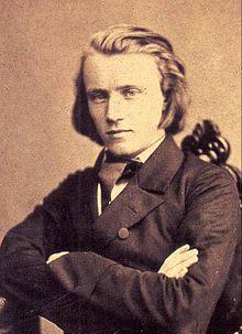 Johannes Brahms en 1853