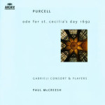 Purcell-hail! Bright Cecilia (McCreesh) [Archiv]