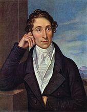 Carl Maria Friedrich Ernst von Weber en 1821