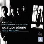 Brahms Quintette op 34 quatuor ebene