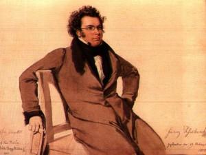 Franz Schubert en 1825