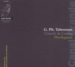 Couverture du disque telemann - concerti da camera - par l'ensemble florilegium